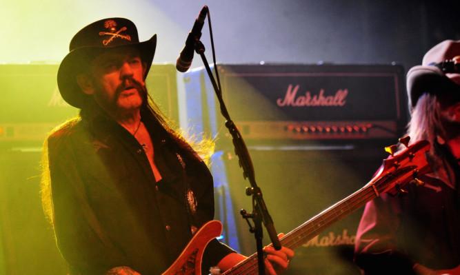 Motorhead frontman Lemmy Kilmister.