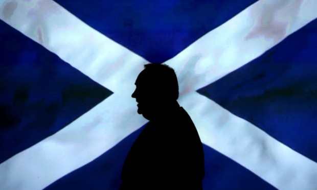 The poll will be seen as a setback for Alex Salmond and the Yes campaign.