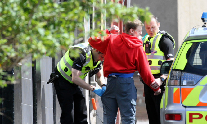 Police Scotlands stop and search policy has proved controversial.