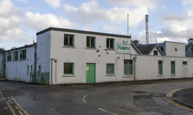 The Aberfeldy laundry site which is closing