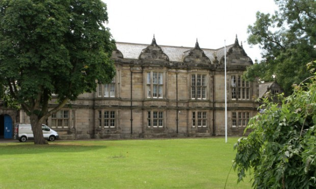 The Madras College building on South Street.