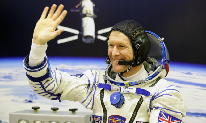 Tim Peake will become the first Briton to walk in space.