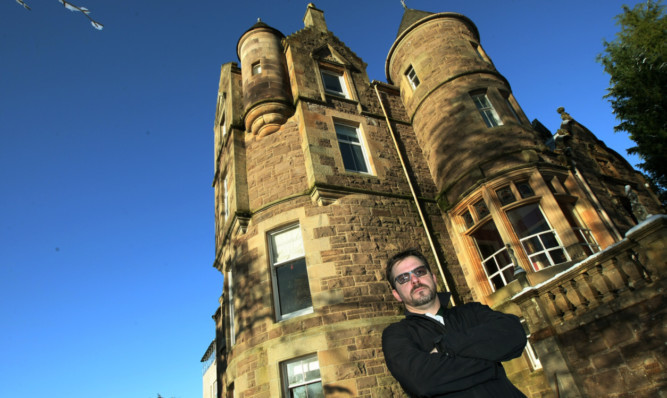 Jason Henderson, general manager of Knock Castle Hotel in Crieff, is still waiting for the money which Robert Grant has been ordered to pay by the court.