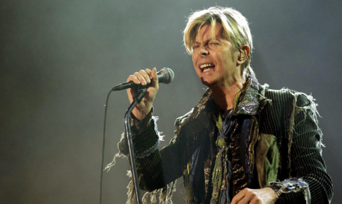 David Bowie died after a battle with cancer.