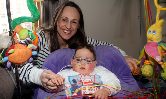Mum Jenny has told of her pride as Blake continues to fight back.
