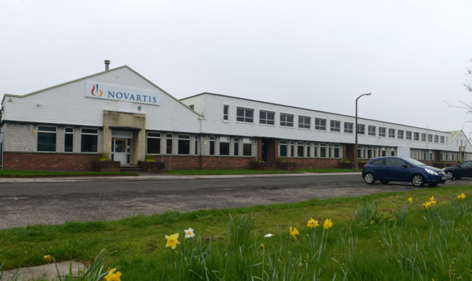 Elanco acquired the Dundee site from Novartis last year