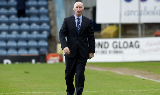 Dundee manager John Brown has withdrawn his threat to step down.