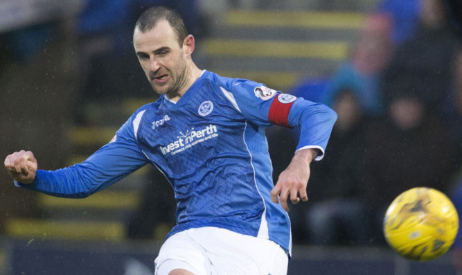 Dave Mackay is one of St Johnstone's injury doubts ahead of the semi-final.