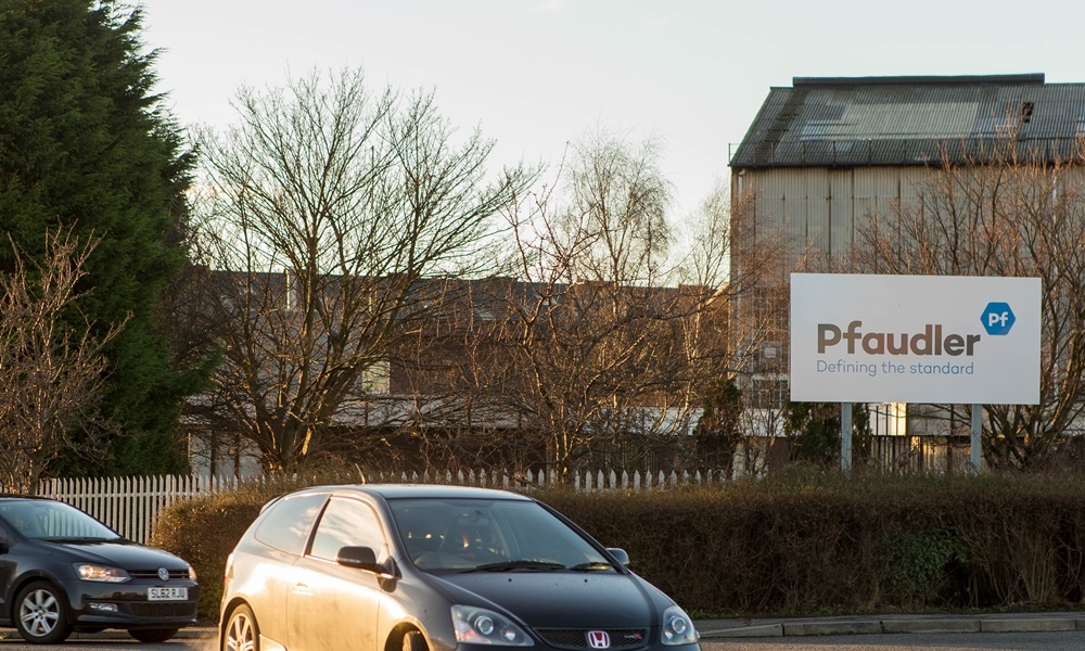 Pfaulder Balfour facility in Leven where 100 jobs are under threat as the firm is looking to move production to Germany. The GMB has called upon the Scottish Government to intervene and help.