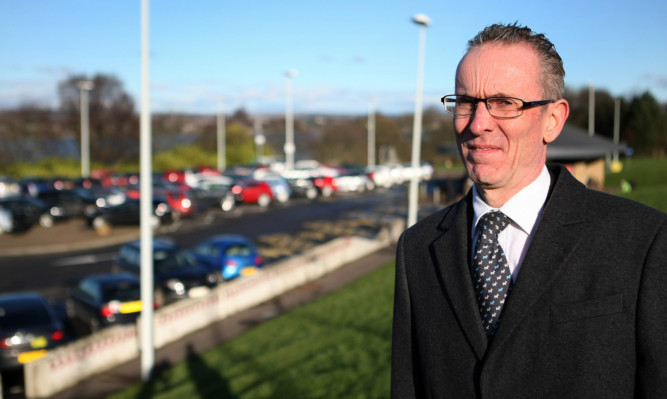 Councillor Fraser Macpherson hopes the proposed park and ride scheme moves forward quickly.