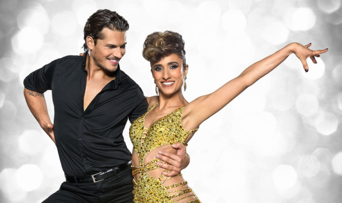Graeme was left gasping for more following a performance by Gleb and partner Anita.