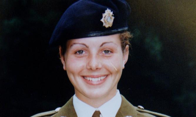 Private Cheryl James.
