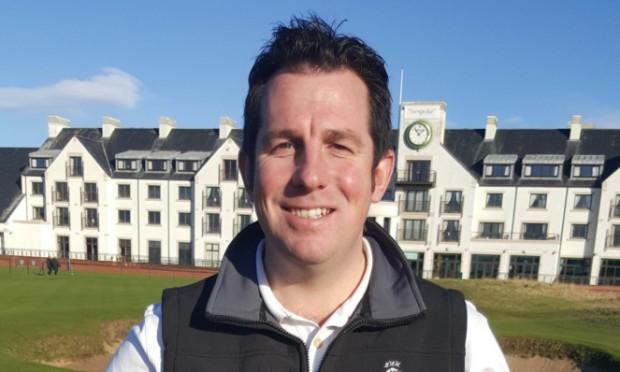Head greenkeeper Craig Boath.