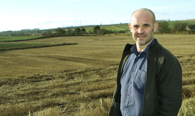 Professor Ian Toth, from the James Hutton Institute, Invergowrie