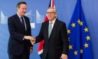 Prime Minister David Cameron and European Commission president Jean-Claude Juncker.