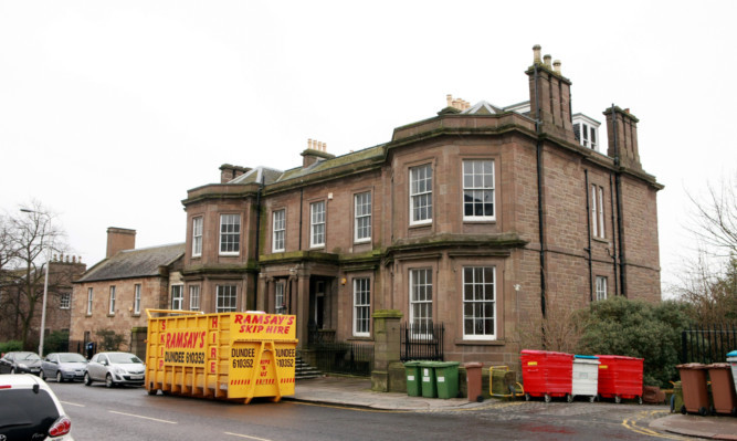 The former Caird Rest building.