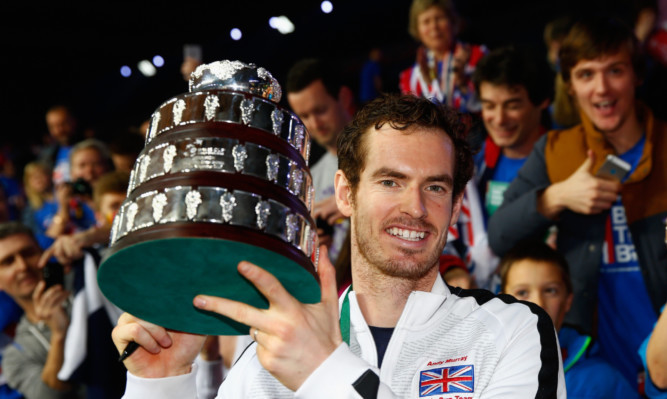 Davis Cup hero Andy Murray.