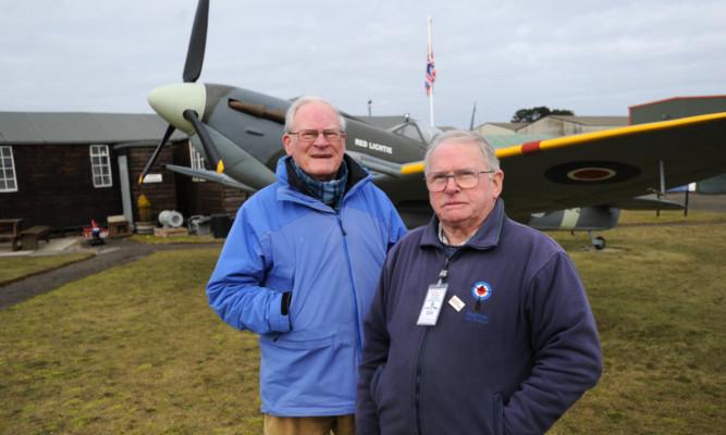 Alan Doe and Dan Paton of Montrose Air Station