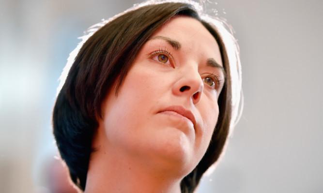 Scottish Labour leader Kezia Dugdale.