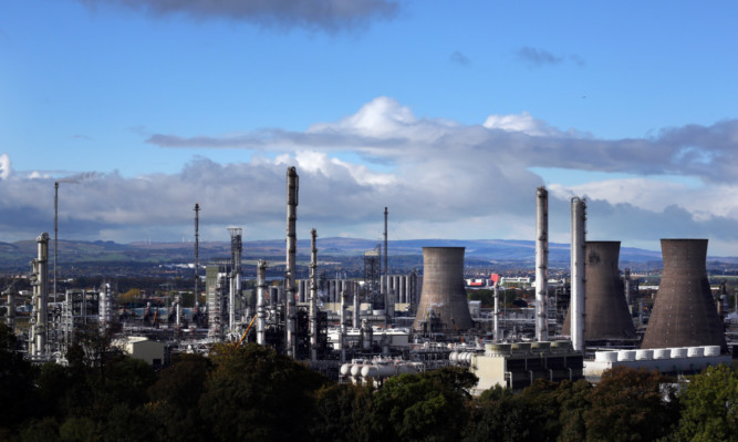 The workforce at Grangemouth would gain from fracking, says Jenny.
