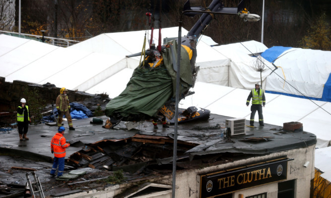 Ten people lost their lives in the crash in Glasgow in November 2013.