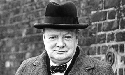 Alex Salmond says Winston Churchill did not talk Scotland down.