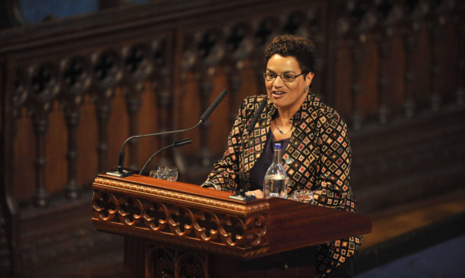 Jackie Kay has been named Scotland's national poet.