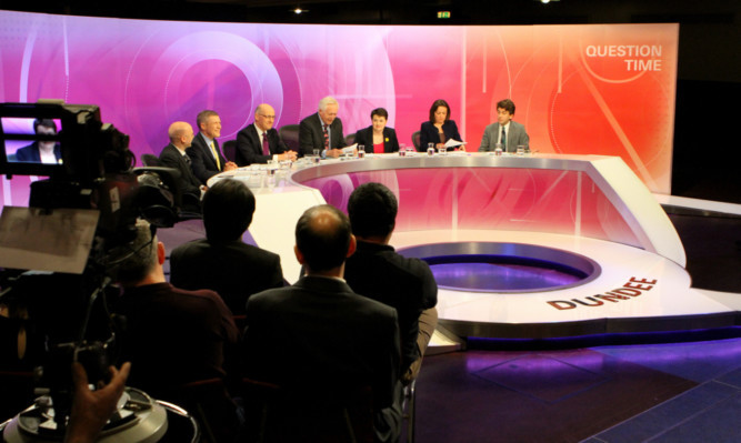 The audience proved as controversial as the debate at Dundee's Question Time.