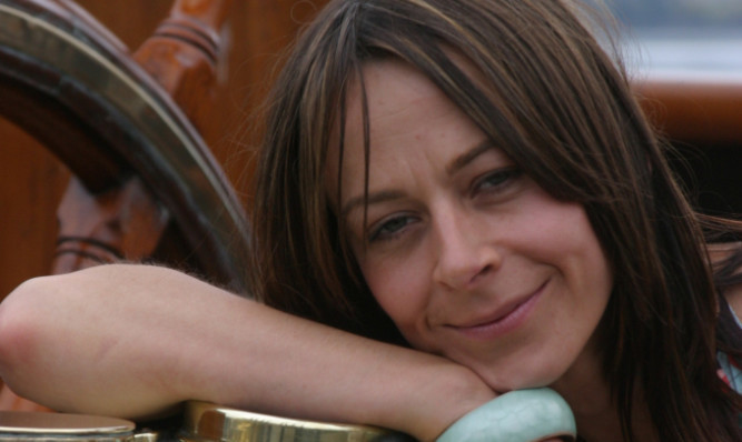 Kate Dickie will star in the film that will be shot in Angus.