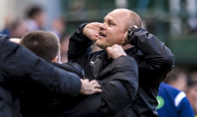 Mixu Paatelainen after United's late equaliser.