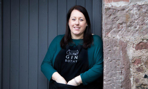 Kim Cameron of The Gin Bothy