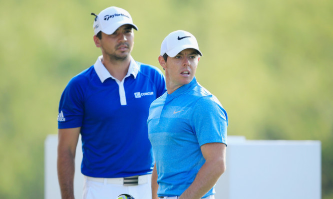 Jason Day has to wait on Rory McIlroy for once during their semi-final clash at the WGC World Matchplay on Sunday.