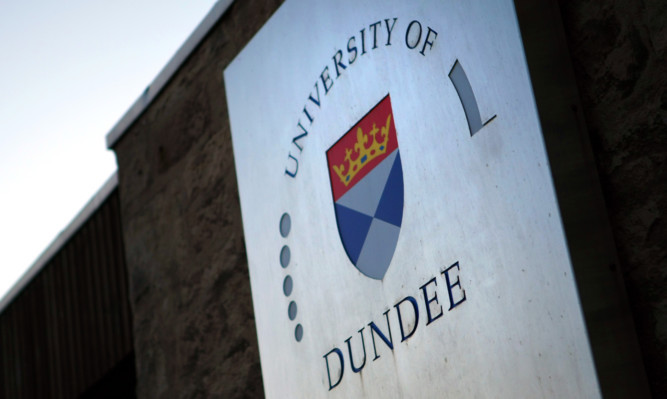 Kris Miller, Courier, 09/02/16. Picture today at University of Dundee for story about large scale cuts to university.