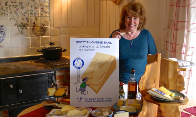 Wendy Barrie, founder of the Scottish Cheese Trail.