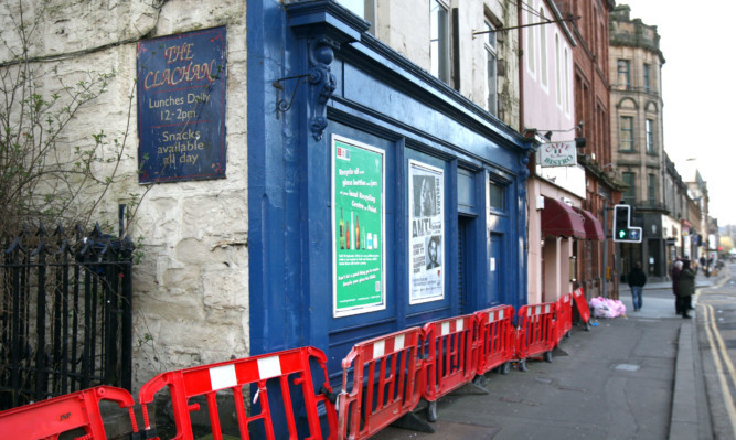 The former Clachan Bar on South Methven Street.