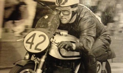 Jimmy Buchan is his racing days.