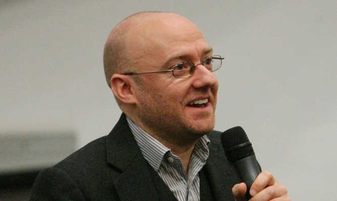 Greaan Party co-convener Patrick Harvie.