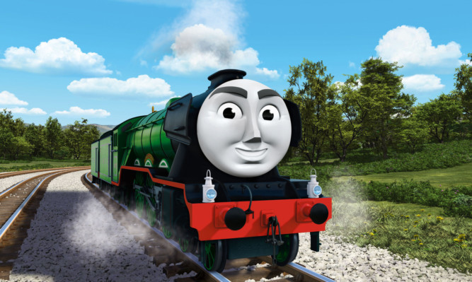 The Flying Scotsman features in the upcoming film Thomas & Friends:  The Great Race.