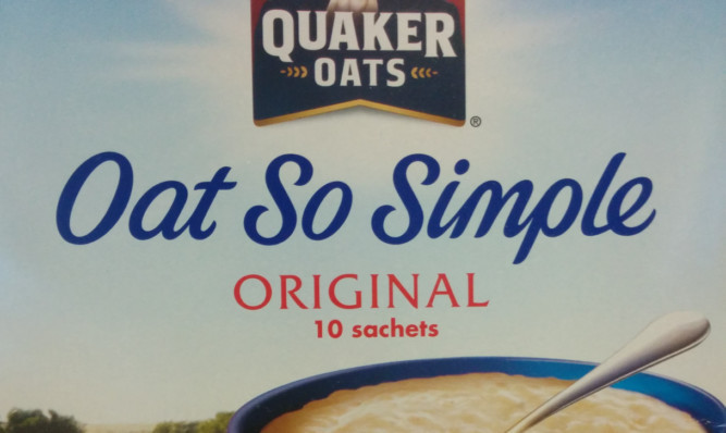 One of Quaker Oats' most popular products.