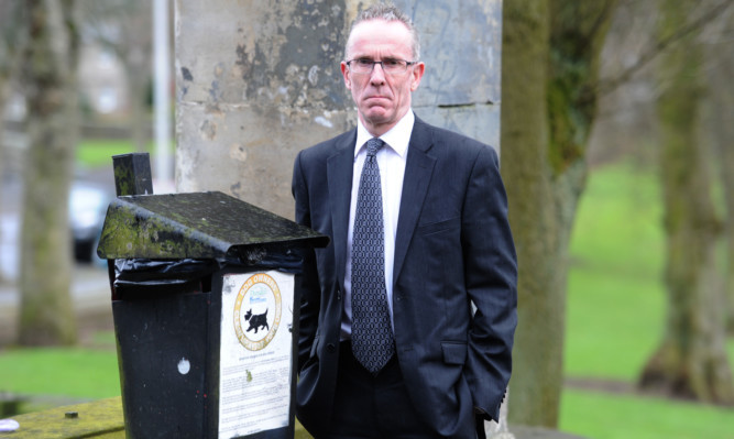 Councillor Fraser Macpherson believes irresponsible pet owners should be punished.