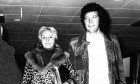 Lady Melinda Rose Woodward with Sir Tom Jones in 1970.