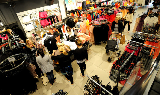 General view of  H&M store in Nottingham.                    . PRESS ASSOCIATION Photo. Picture date: Wednesday June 22 , 2011. See PA story. Photo credit should read: Rui Vieira/PA Wire
