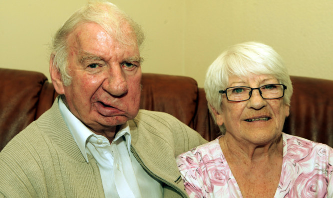 Communist Councillor Willie Clarke and his wife Betty.