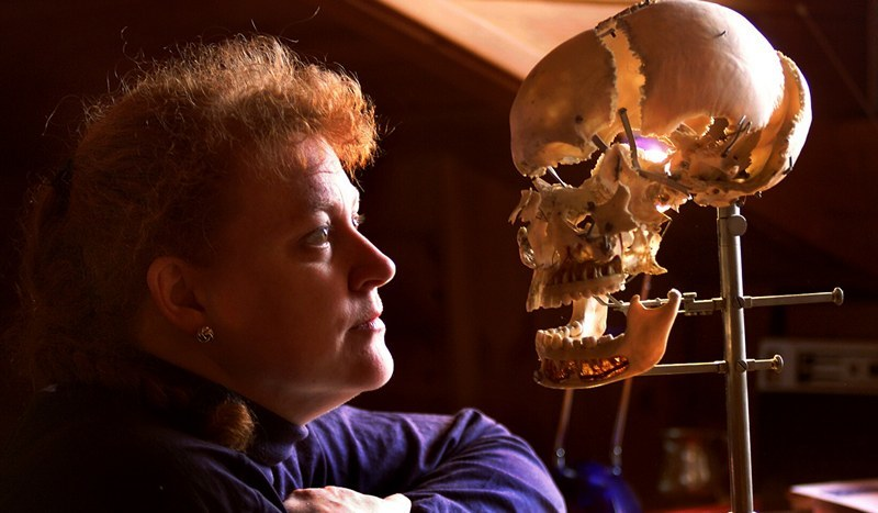 Professor Sue Black, professor of anatomy and forensic anthropology and the director of the Centre for Anatomy and Human Identification at Dundee University.