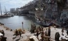 The Fife harbour was transformed to look like the French port of Le Havre during the cholera outbreak for the hit historical drama Outlander.