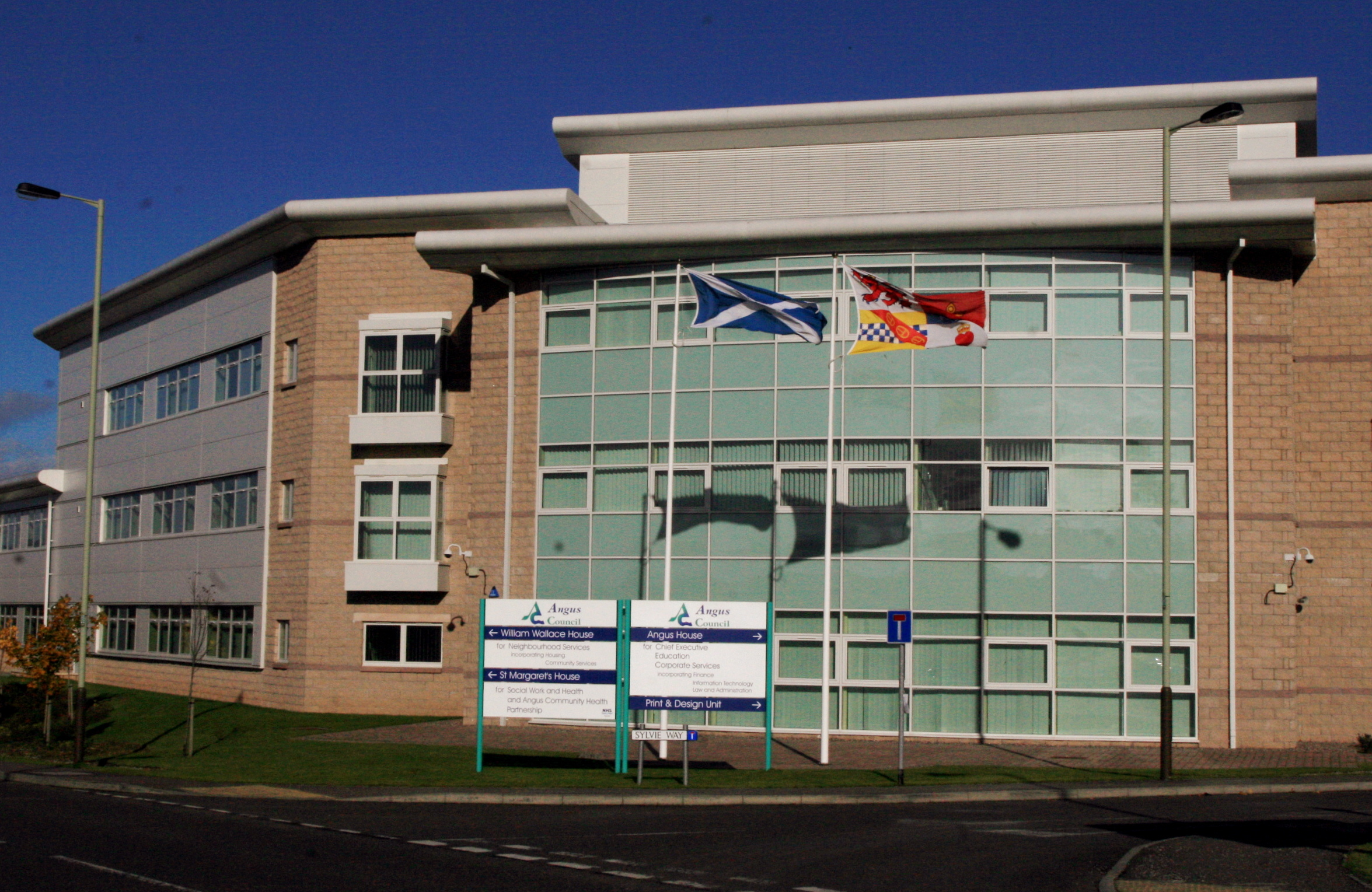 Angus Council HQ in Forfar.