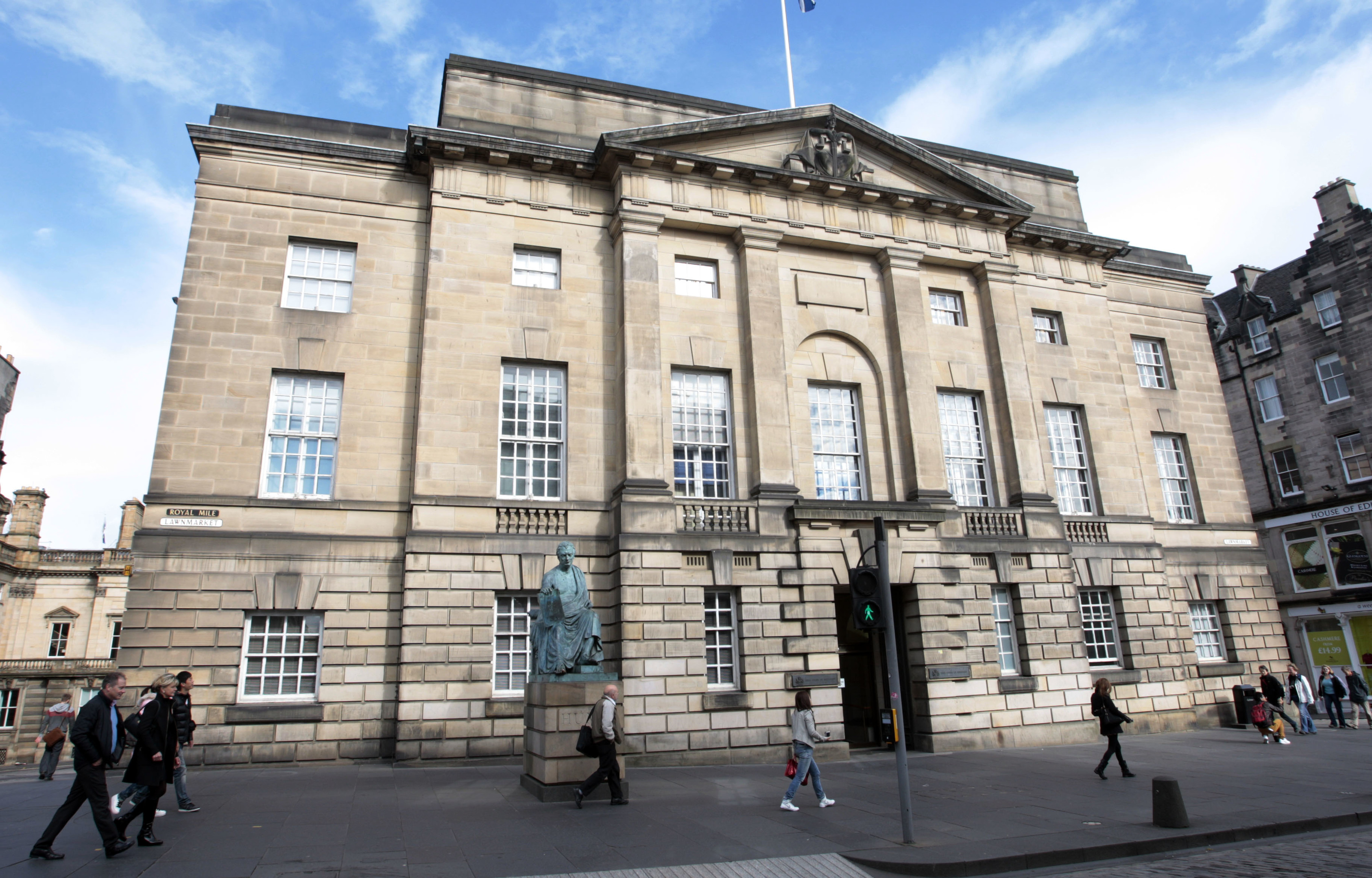 Edinburgh High Court.