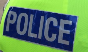 Police were called to Happyhillock Road on Monday.