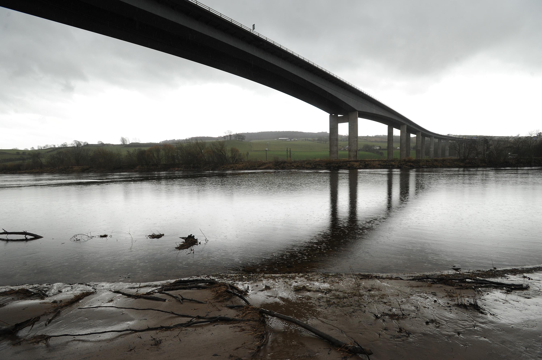 The Friarton Bridge.