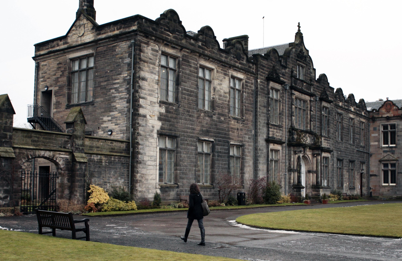 St Salvator's Quad at St Andrews University.